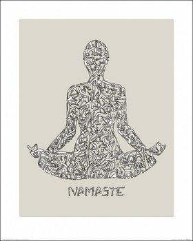 Impressão artística Louise Tate - Namaste