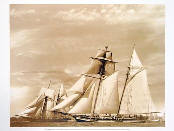 Impressão artística Maiden Voyage II