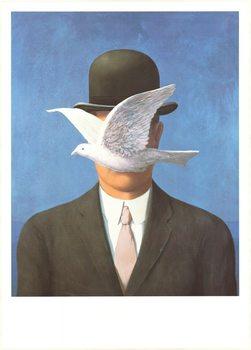 Impressão artística Man in a Bowler Hat, 1964