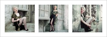Impressão artística Marilyn Monroe - The Parisian Series