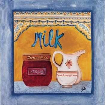 Impressão artística Milk