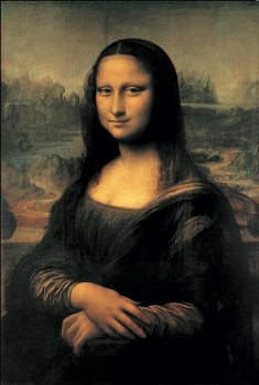 Impressão artística Mona Lisa (La Gioconda)
