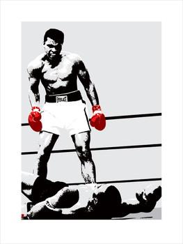Impressão artística Muhammad Ali - Gloves