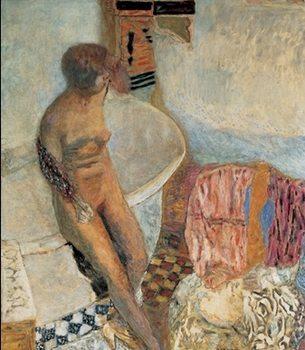 Impressão artística Nude by the Bath Tub, 1931 - Pierre Bonnard