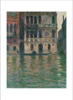 Impressão artística Palazzo Dario in Venice, 1908