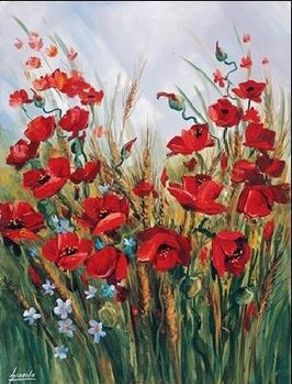 Impressão artística Poppies