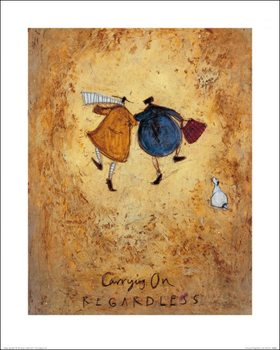 Impressão artística Sam Toft - Carrying on Regardless