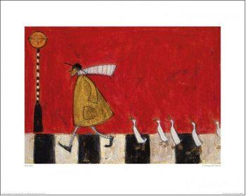 Arte Sam Toft - Crossing With Ducks