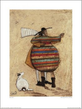 Impressão artística Sam Toft - Dancing Cheek To Cheeky
