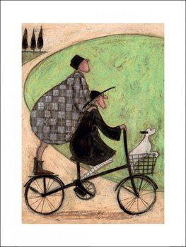 Impressão artística Sam Toft - Double Decker Bike