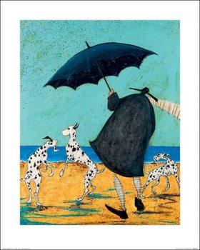 Impressão artística Sam Toft - On Jack's Beach