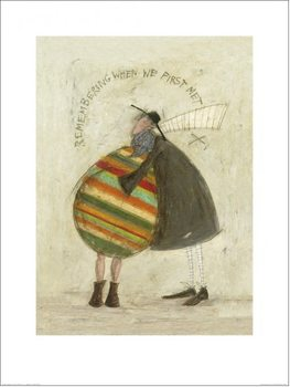 Impressão artística Sam Toft - Remembering When We First Met