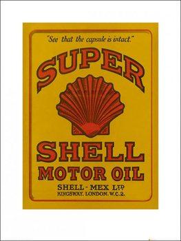 Impressão artística Shell - Adopt The Golden Standard, 1925