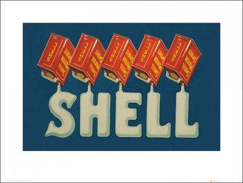 Impressão artística Shell - Five Cans 'Shell', 1920