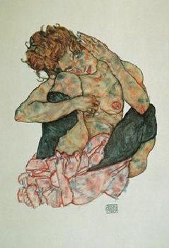 Impressão artística Sitting Woman