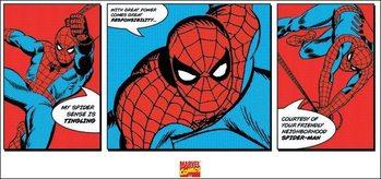 Impressão artística Spider-Man - Triptych