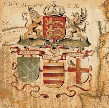 Arte Terra Nova IV - s červenou linkou 27 x 27 cm