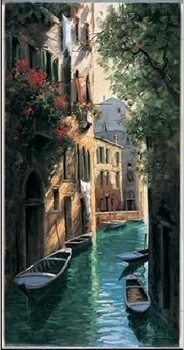 Impressão artística Venetian reflections