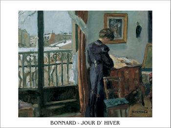 Impressão artística Winter's Day, 1905