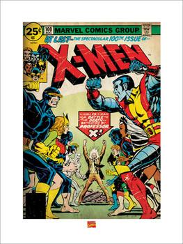 Impressão artística X-MEN