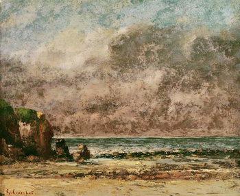 Reprodução do quadro A Calm Seascape