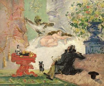 Reprodução do quadro A Modern Olympia, 1873-74