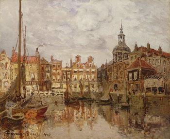 Reprodução do quadro A Port, 1905