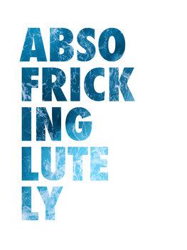 Ilustração Abso fricking lutely
