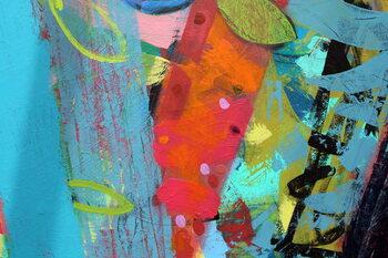 Reprodução do quadro abstract 4