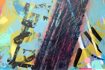 Reprodução do quadro abstract 5