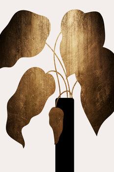 Ilustração Abstract Bouquet