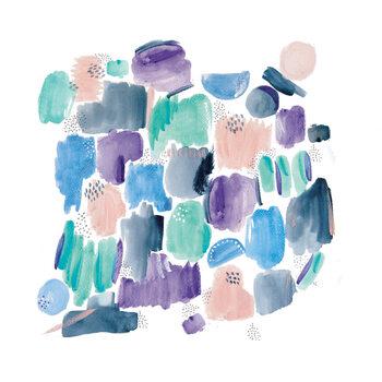 Ilustração Abstract shapes