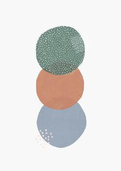 Ilustração Abstract soft circles part 2