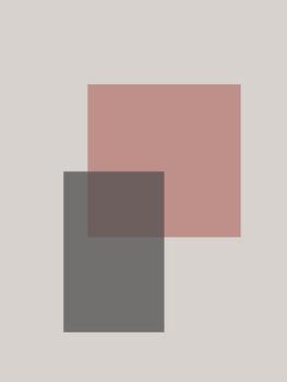Ilustração abstract squares