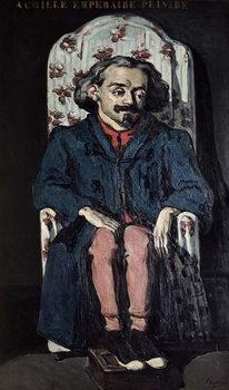Reprodução do quadro Achille Emperaire (1829-98) c.1868