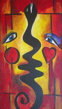 Reprodução do quadro Adam and Eve, 2006