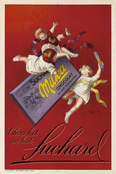 Reprodução do quadro Advertising poster for Milka chocolates by Suchard, 1925