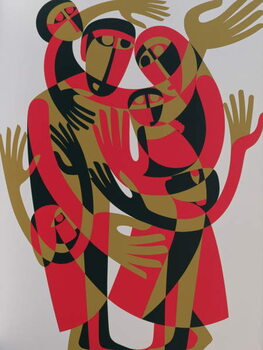 Reprodução do quadro All Human Beings are Born Free and Equal in Dignity and Rights, 1998
