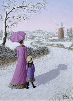 Reprodução do quadro Almost Home, 1996