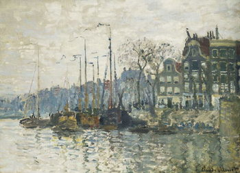 Reprodução do quadro Amsterdam, 1874