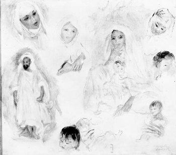 Reprodução do quadro Arabs, 1881-82 (oil on canvas)