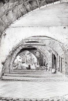 Reprodução do quadro Arches Sauveterre France, 2010,