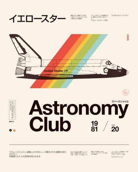 Reprodução do quadro Astronomy Club