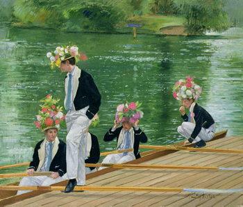 Reprodução do quadro At Masters' for the Parade, 1999