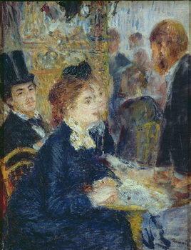 Reprodução do quadro At the Cafe, c.1877