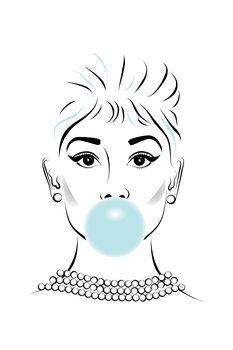 Ilustração Audrey