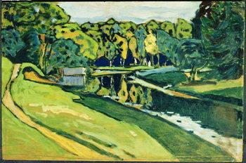 Reprodução do quadro Autumn, 1900