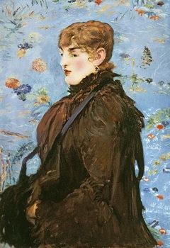 Reprodução do quadro Autumn (Mery Laurent), 1882