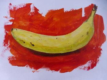 Reprodução do quadro Banana