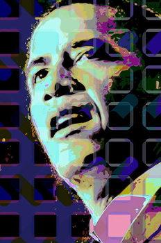 Reprodução do quadro Barack Obama